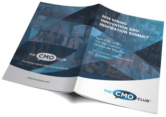 The CMO Club print collateral